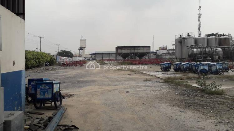 Fenced 5 Acres of Land with C of O, Isolo, Lagos, Industrial Land for Sale
