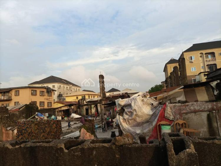 Vacant Plot of About 1,400sqms., Abeokuta Street., Ebute Metta West, Yaba, Lagos, Mixed-use Land for Sale
