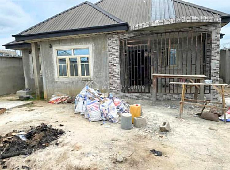 4 Bedroom Bungalow with 2 Sitting Rooms with Federal Light, Rukpokwu, Port Harcourt, Rivers, Detached Bungalow for Sale