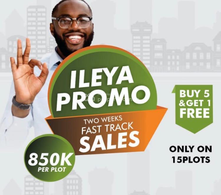 Dry Land Available on Promo Price Plus Additional Ileya Incentives, Igbogun Road, Owode Ise, Ibeju Lekki, Lagos, Mixed-use Land for Sale