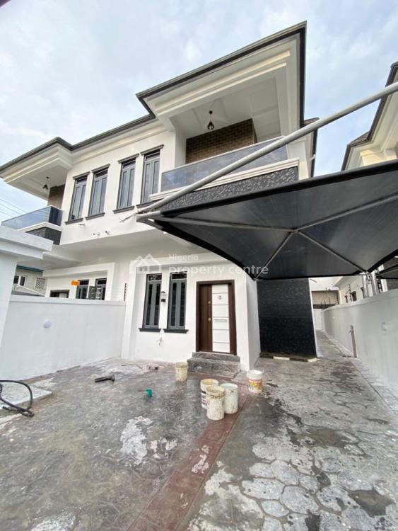 Tastefully Built 4 Bedroom Semi Detached Duplex with a Bq, By Second Toll Gate, Lekki, Lagos, Semi-detached Duplex for Sale