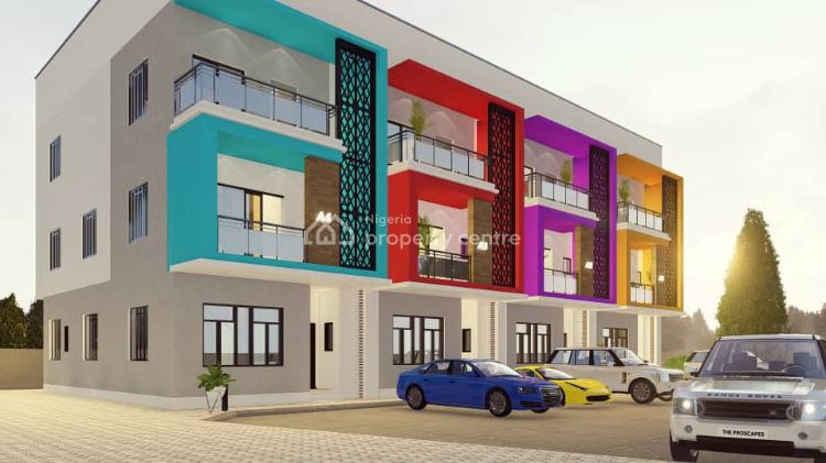 Luxury 4 Bedroom Terrace Duplex Plus Bq (off Plan Project), Between Games Village and Galadinma Junction, Kaura, Abuja, Terraced Duplex for Sale