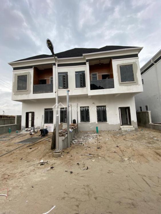 a Lovely 4 Bedroom Semi Detached Duplex with Bq, 2nd Toll Gate, Lekki, Lagos, Semi-detached Duplex for Sale