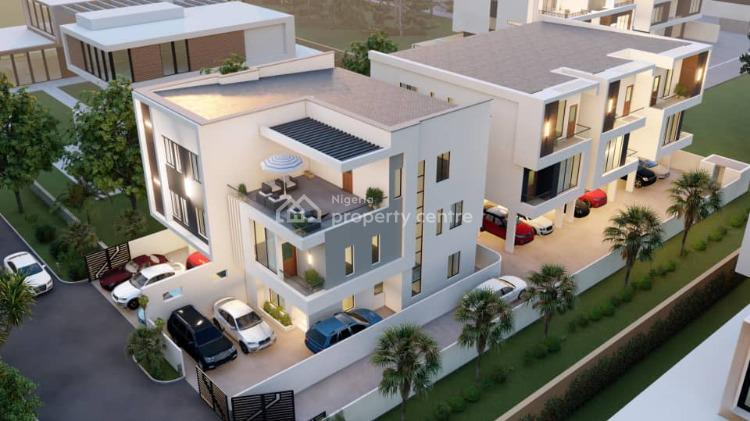 Off Plan Exquisitely Finished 5 Bedrooms Terraced House with 1 Room Bq, Off Ogudu Road, Ogudu, Lagos, Terraced Duplex for Sale