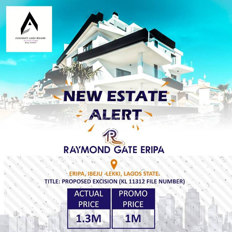 Dry Estate Land with Excision, Eripa., Ibeju Lekki, Lagos, Residential Land for Sale