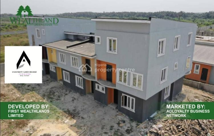 3 Bedroom Estate Apartments with C of O, Oribanwa., Ajah, Lagos, Block of Flats for Sale