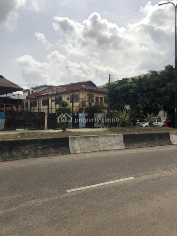 1 Storey Building on 600 Square Meters Total Land Area, Along Herbert Macaulay Way., Yaba, Lagos, House for Sale