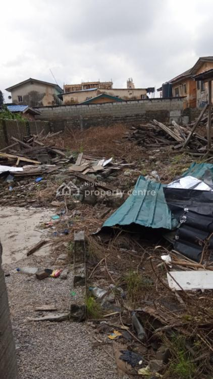 Empty Land with Gate and Fence., Off Kilo Masha Road, Kilo, Surulere, Lagos, Residential Land for Sale