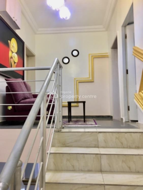 3 Bedroom Furnished Terrece Duplex with Bq, Jabi, Abuja, Terraced Duplex for Rent