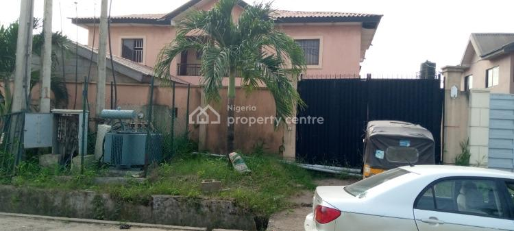 2 Wings of a Semi Detached Duplex with Boys Quarters., Maplewood Estate, New Oko Oba., Agege, Lagos, Semi-detached Duplex for Sale