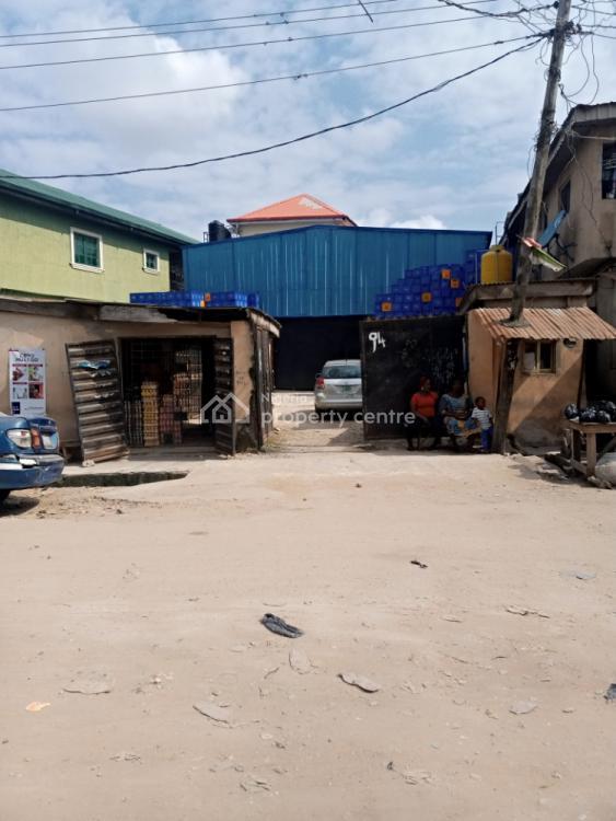 Land/ Warehouse, Oworo Road. Oworonsoki, Kosofe, Lagos, Warehouse for Sale