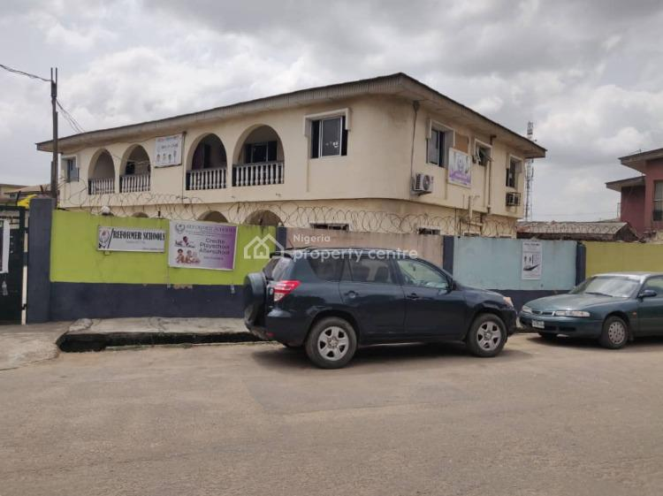 Block of 4 Units of 3  Bedroom Apartment with Bqs., 2b Abiola Johnson Off Orelope., Egbeda, Alimosho, Lagos, Block of Flats for Sale