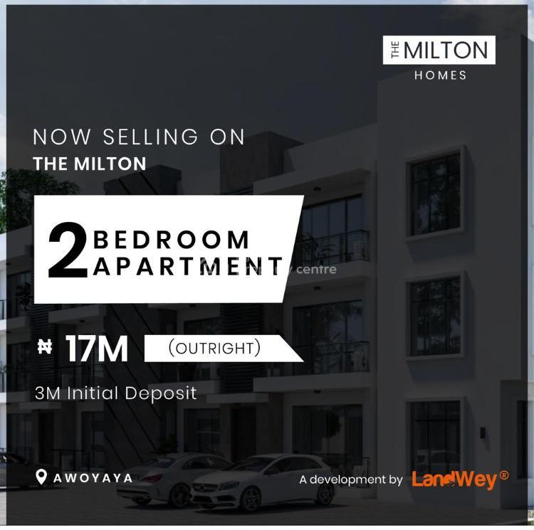 a Luxury 2 Bedroom Apartment with Top Notch Modern Amenities, Awoyaya, Behind Greenspring School, Lekki, Lagos, Block of Flats for Sale