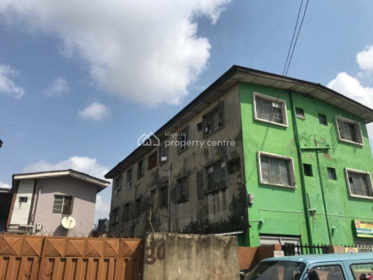 a Two Story Building Consisting of Block of 5 Flats with Warehouse., Akoka, Yaba, Lagos, Block of Flats for Sale