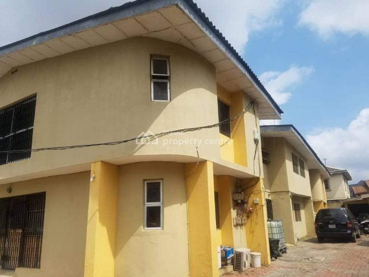 Block of 4 Nos of 3 Bedroom Flats, an Estate Off College Road, Ikeja, Lagos, Block of Flats for Sale