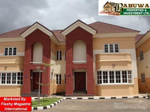 For sale beautiful 4 bedroom terrace duplex quite street for Houses in abuja nigeria