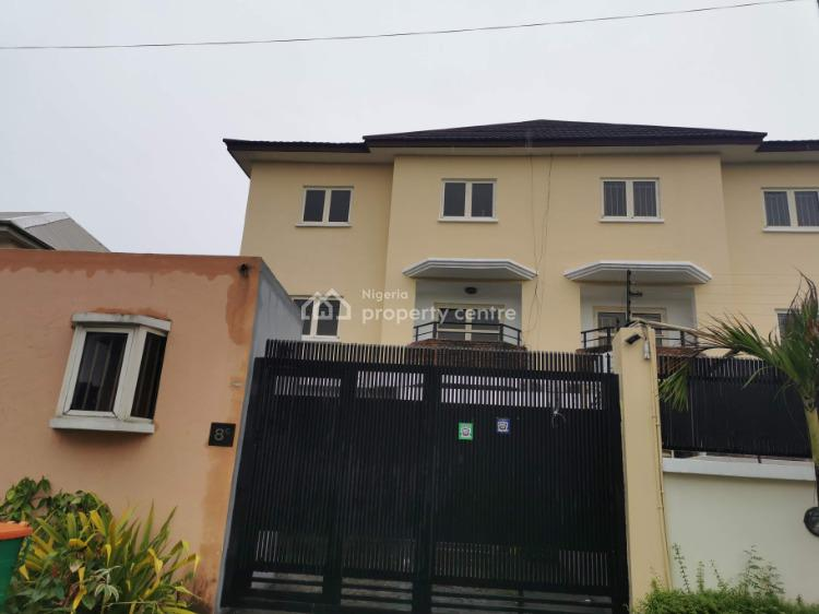 Spacious 4 Bedroom Semi Detached House, Parkview, Ikoyi, Lagos, Semi-detached Duplex for Sale