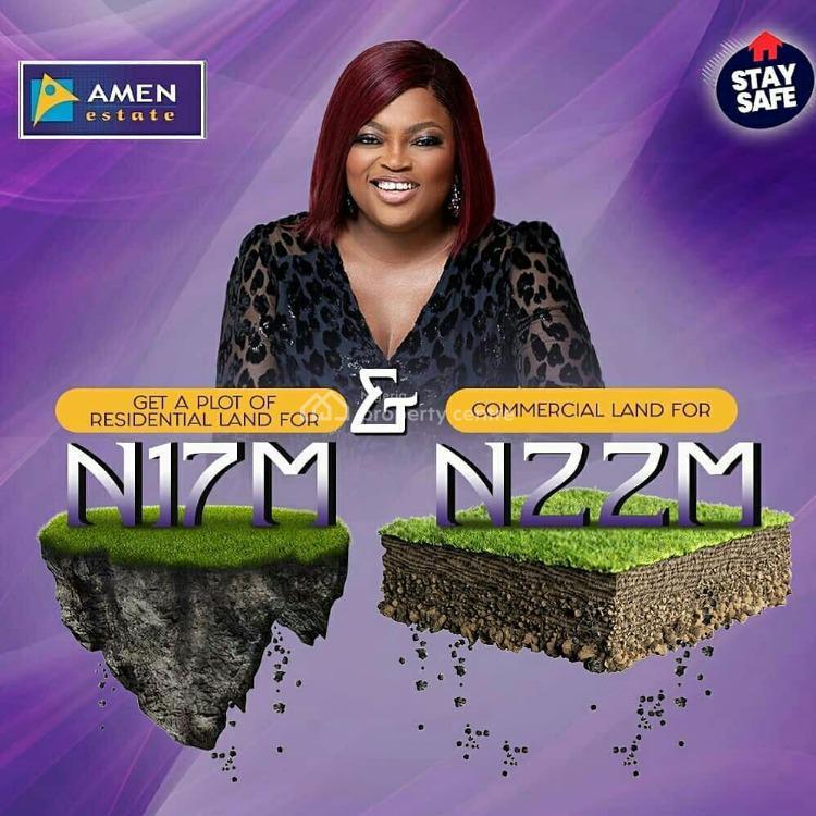Plot of Land in Amen Estate The Home of Celebrities., Amen Estate, Eleko, Ibeju Lekki, Lagos, Land for Sale