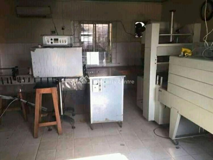 Equipped Facilities Functioning Pure Water Factory on 957sqm, By Nnpc, Ejigbo, Lagos, Factory for Sale