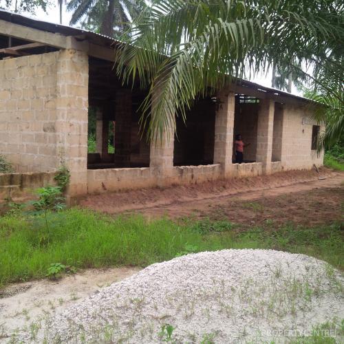 Uncompleted Poultry Farm, Ukana Off Abak Road, Ikot Ekpene, Abak, Akwa Ibom, Commercial Property for Rent