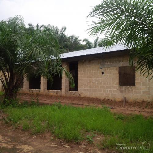 Uncompleted Poultry Farm, Ukana Off Abak Road, Ikot Ekpene, Abak, Akwa Ibom, Commercial Property for Rent