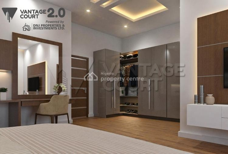 3 Bedroom All Rooms En-suite Semi-detached, Vantage Court, Sangotedo, Ajah, Lagos, Terraced Duplex for Sale