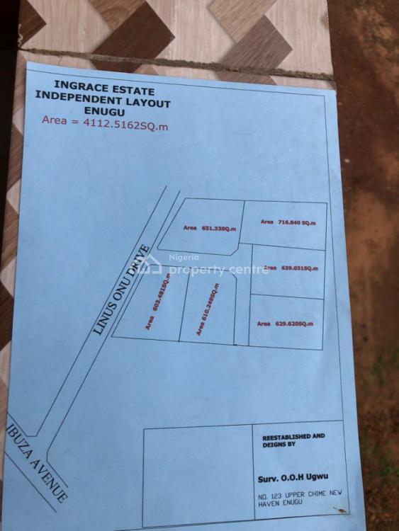 Ingrace Estate, Off Ibuza Avenue,  Near Ozone Hostel, Independence Layout, Enugu, Enugu, Residential Land for Sale