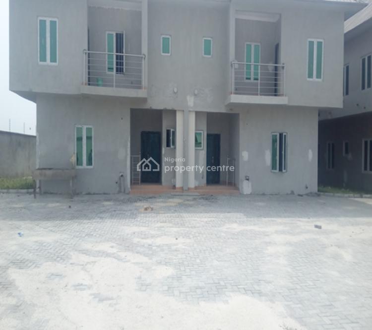 4 Bedrooms Duplex with a Room Boys Quarters, Plot 1038, Block 43, Abijo Gra, Abijo, Lekki, Lagos, Detached Duplex for Rent