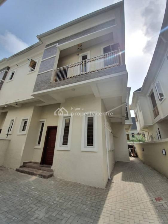 New 4 Bedroom Semi Detached Duplex with Bq, Chevron Alternative Route Bye Chevron, Lekki, Lagos, Semi-detached Duplex for Sale