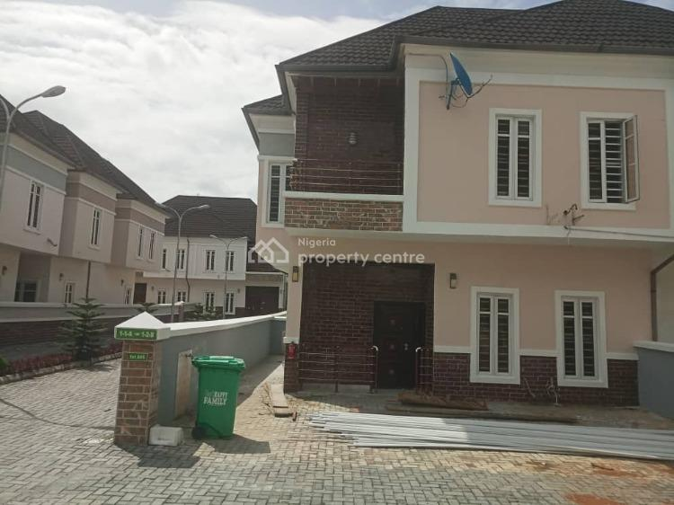 Spacious 4 Bedroom Semi Detached Duplex with Bq, Ikotavilla Estate, Lekki, Lagos, Semi-detached Duplex for Sale