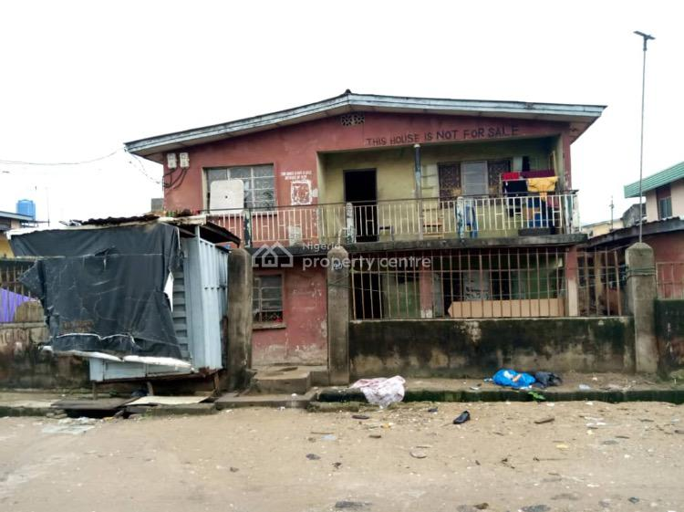 a Spacious Storey Building Close to The Road on a Plot of Land, Ayemojuba Street, Mangoro, Ikeja, Lagos, Block of Flats for Sale