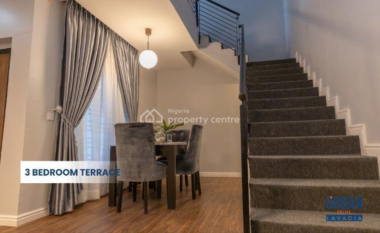 Luxury Houses with Flexible Plan - 3 Bedroom Semi Detached, Ajah, Lagos, Semi-detached Duplex for Sale