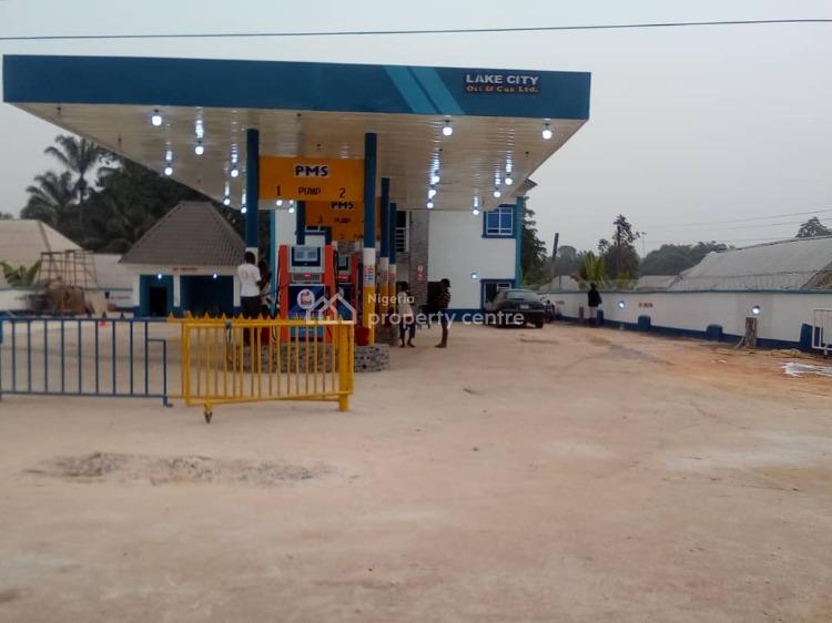 Mega Filling Station with a 5 Bedroom Office Space, Otolu Near Mgbidi, Okigwe, Imo, Filling Station for Sale