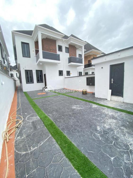 a Beautiful 4 Bedroom Semi Detached Duplex with a Room Bq, Ikota, Lekki, Lagos, Semi-detached Duplex for Sale