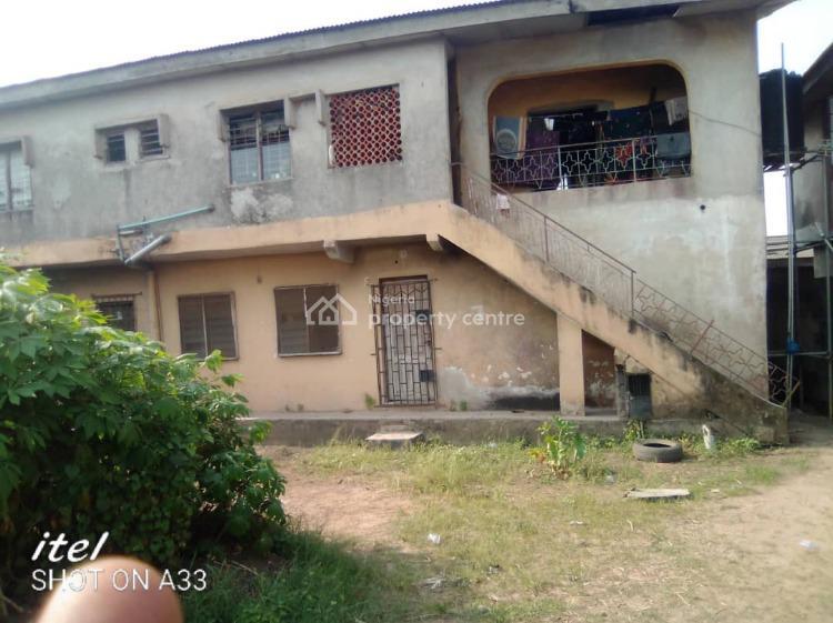 House on a Plot of Land., Sharafa Ambali Street, Isheri Oshun, Igando, Ikotun, Lagos, Block of Flats for Sale