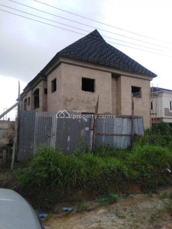 an Uncompleted Luxury  4 Units 3 Bedrooms Flat, Greenleaf  Estate., Ebute, Ikorodu, Lagos, Block of Flats for Sale