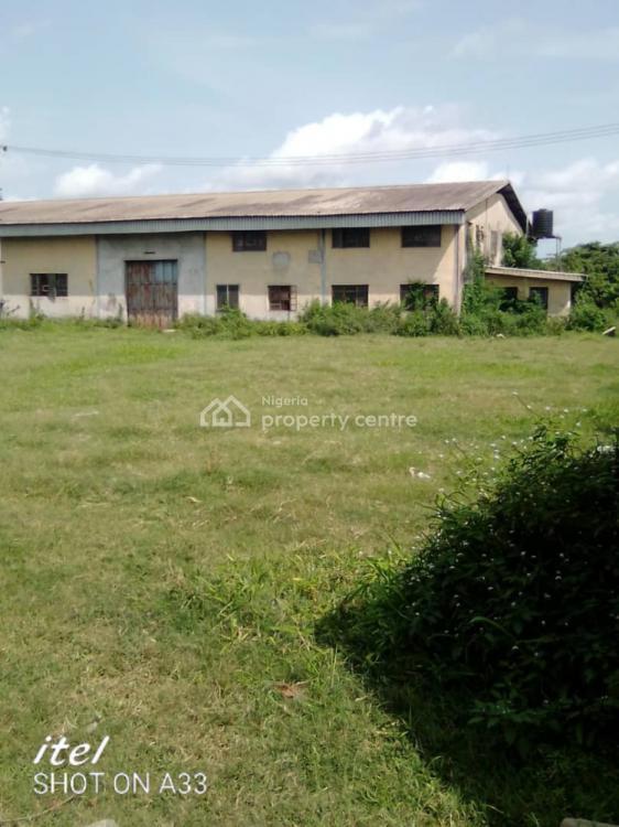Warehouse with Offices, Idiroko Road, Sango Ota, Ogun, Warehouse for Sale