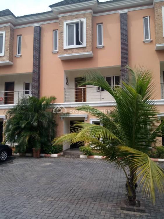 Lovely 4 Bedroom Terrace with Bq, Osapa, Lekki, Lagos, Terraced Duplex for Rent