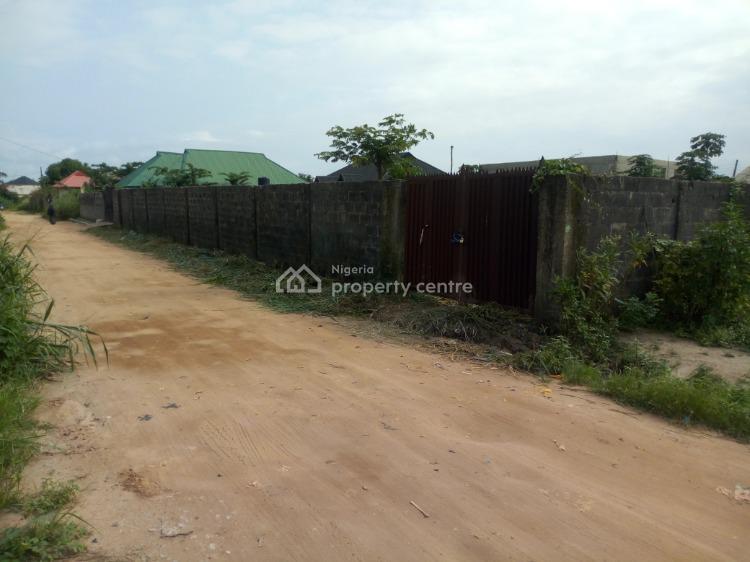 Fenced and Gated Plot of Land, Olugbuwa Estate, Behind Nipco Filling Station, Ikorodu, Lagos, Mixed-use Land for Sale