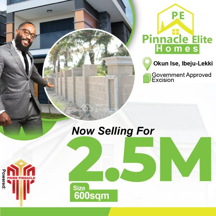 Total Dry Land in a Secured Estate and Great Location, Okun Ise, Ibeju Lekki, Lagos, Mixed-use Land for Sale