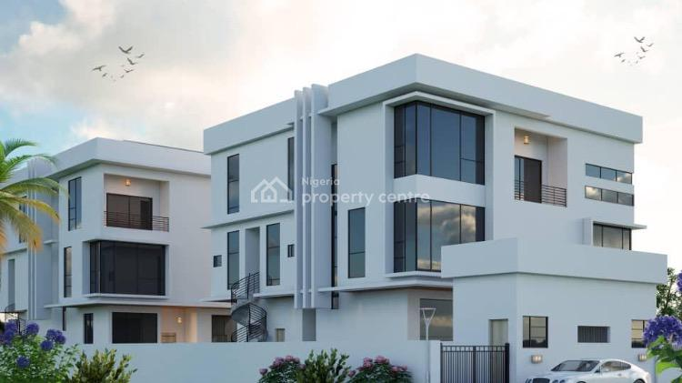 Fitted 5 Bedrooms with 2 Room Bq. Elevator, S/pool (off Plan), Water View Aqua City, Ikoyi, Lagos, Detached Duplex for Sale