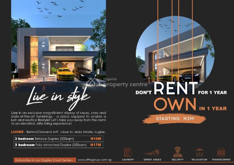 Buildable Estate Lands, Before Jedo Estate/ The Prestige Estate, Sabon Lugbe, Lugbe District, Abuja, Detached Duplex for Sale