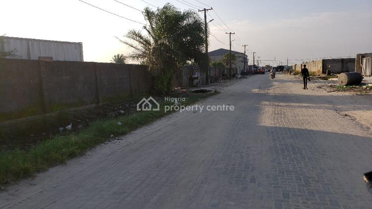 Lovely Fully Fenced Bare Land, Beside Daughters of Destiny, General Paint Bus-stop, Alasia, Olokonla, Ajah, Lagos, Residential Land for Sale
