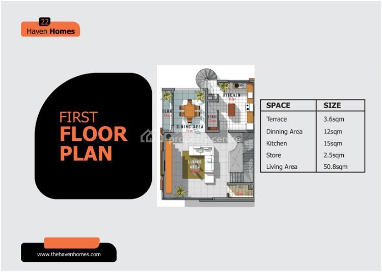 Luxury 5 Bedrooms Quadruplet Unit (off Plan), Richmond Pearl Estate, By Freedom Way, Lekki Phase 1, Lekki, Lagos, Semi-detached Duplex for Sale