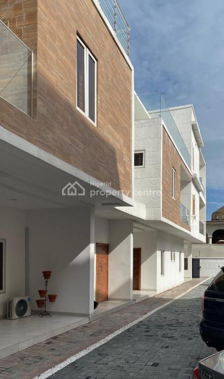Luxury 4 Bedrooms Terrace, Off Freedom Road, Ikate Elegushi, Lekki, Lagos, Terraced Duplex for Sale