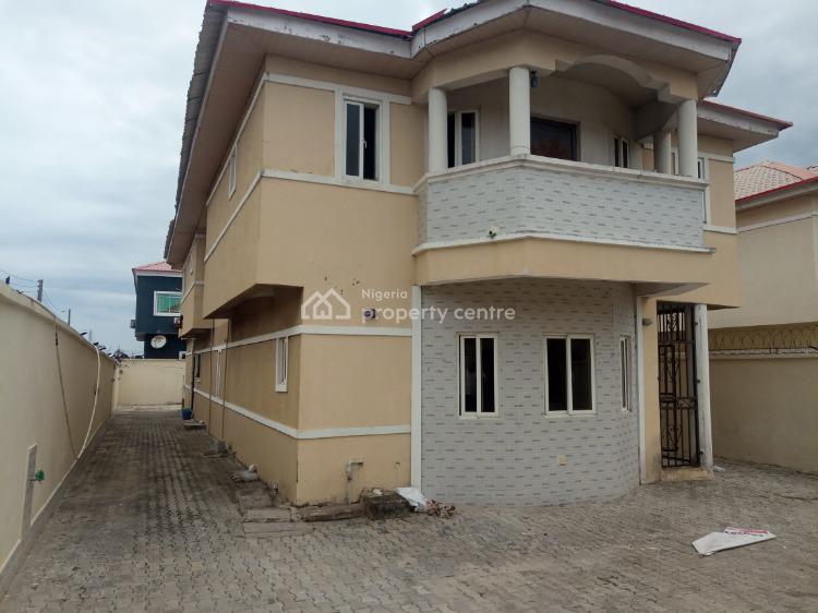 Nice 4 Bedrooms + Bq Detached Duplex, Admiralty Homes Estate, Off Alpha Beach Road, Before Chevron, Igbo Efon, Lekki, Lagos, Detached Duplex for Sale