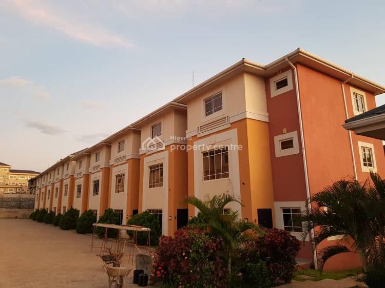 a Tastefully Finished Serviced, Brand New 4 Bedroom Terraced Duplex, Garki District, Garki, Abuja, Terraced Duplex for Rent