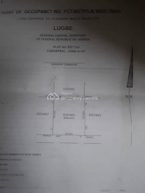 8000sqm, Idu Industrial, Abuja, Residential Land for Sale