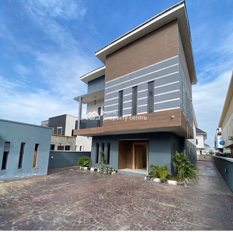 Luxury 5 Bedroom Detached Duplex with Excellent Facilities, Pinnock Beach Estate, Osapa, Lekki, Lagos, Detached Duplex for Sale