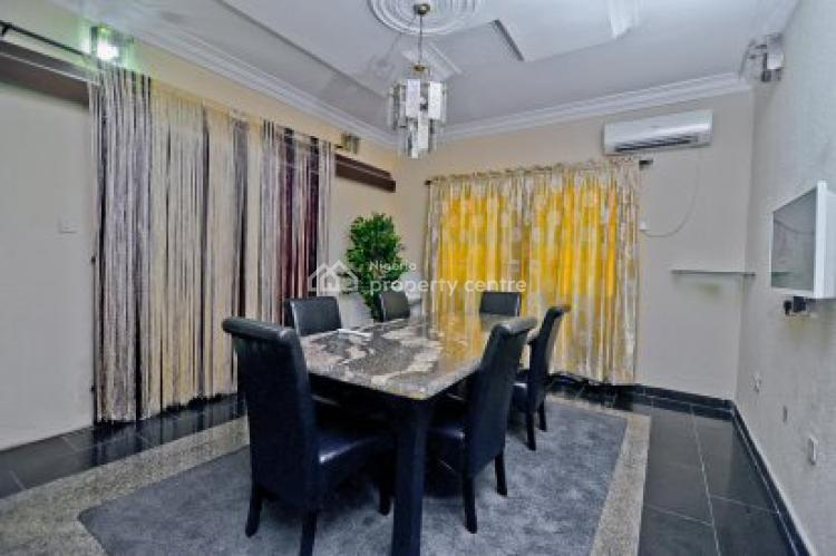 Luxury Fully Furnished 4 Bedrooms Duplex with 2 Rooms Bq, Vgc, Lekki, Lagos, Detached Duplex for Sale